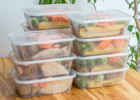 packed lunch for the week